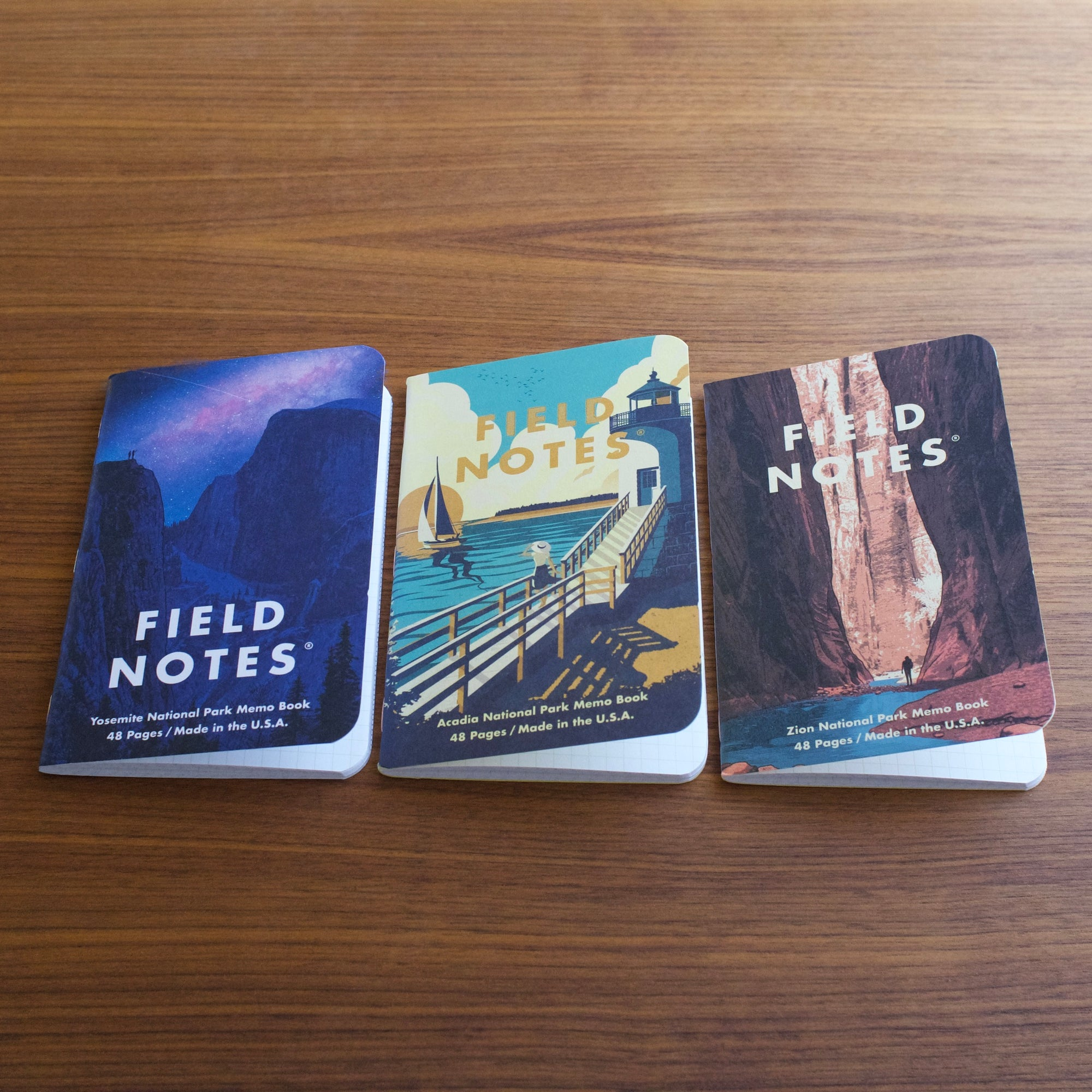 Field Notes National Parks Series A