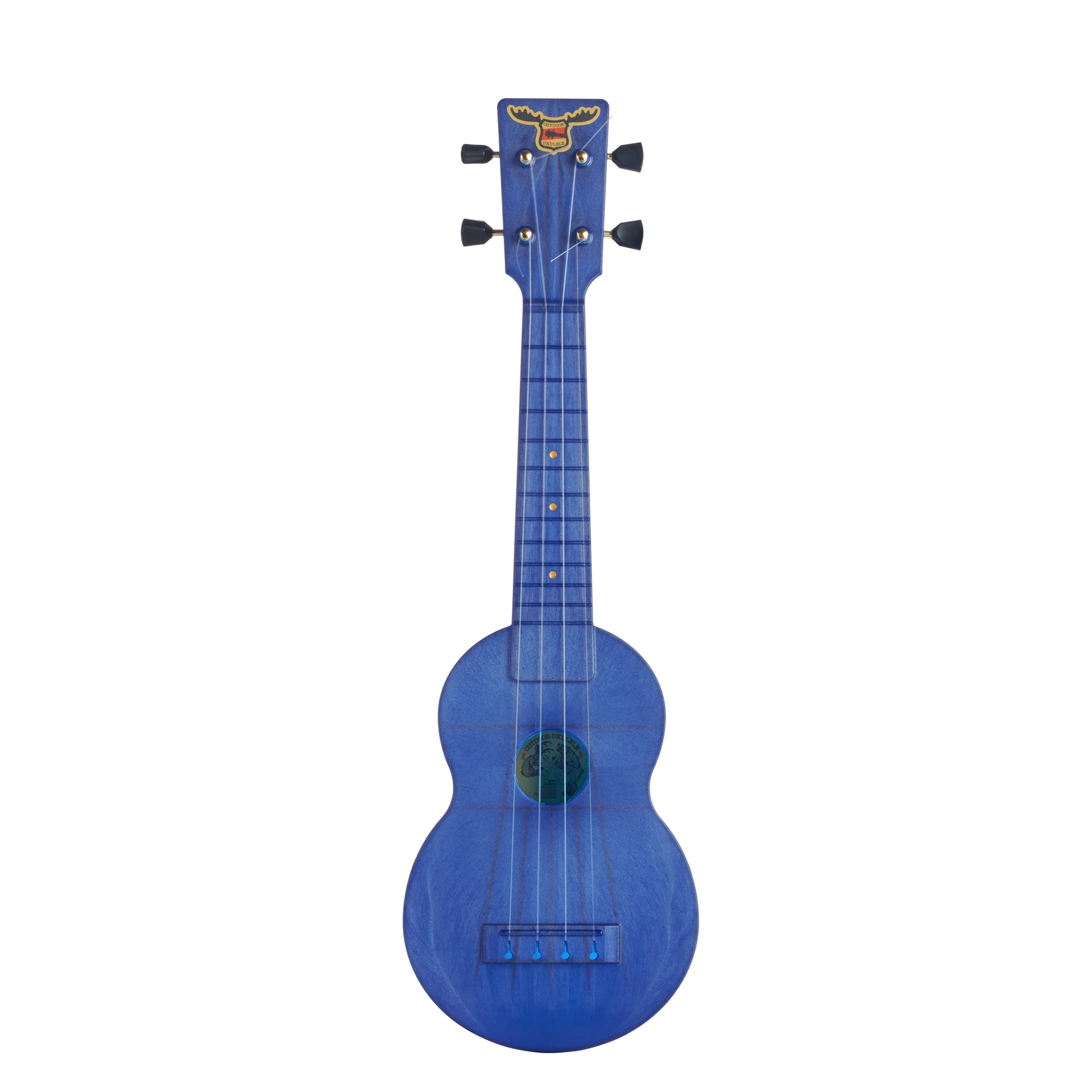 Outdoor Ukulele™ Soprano Blue Gold