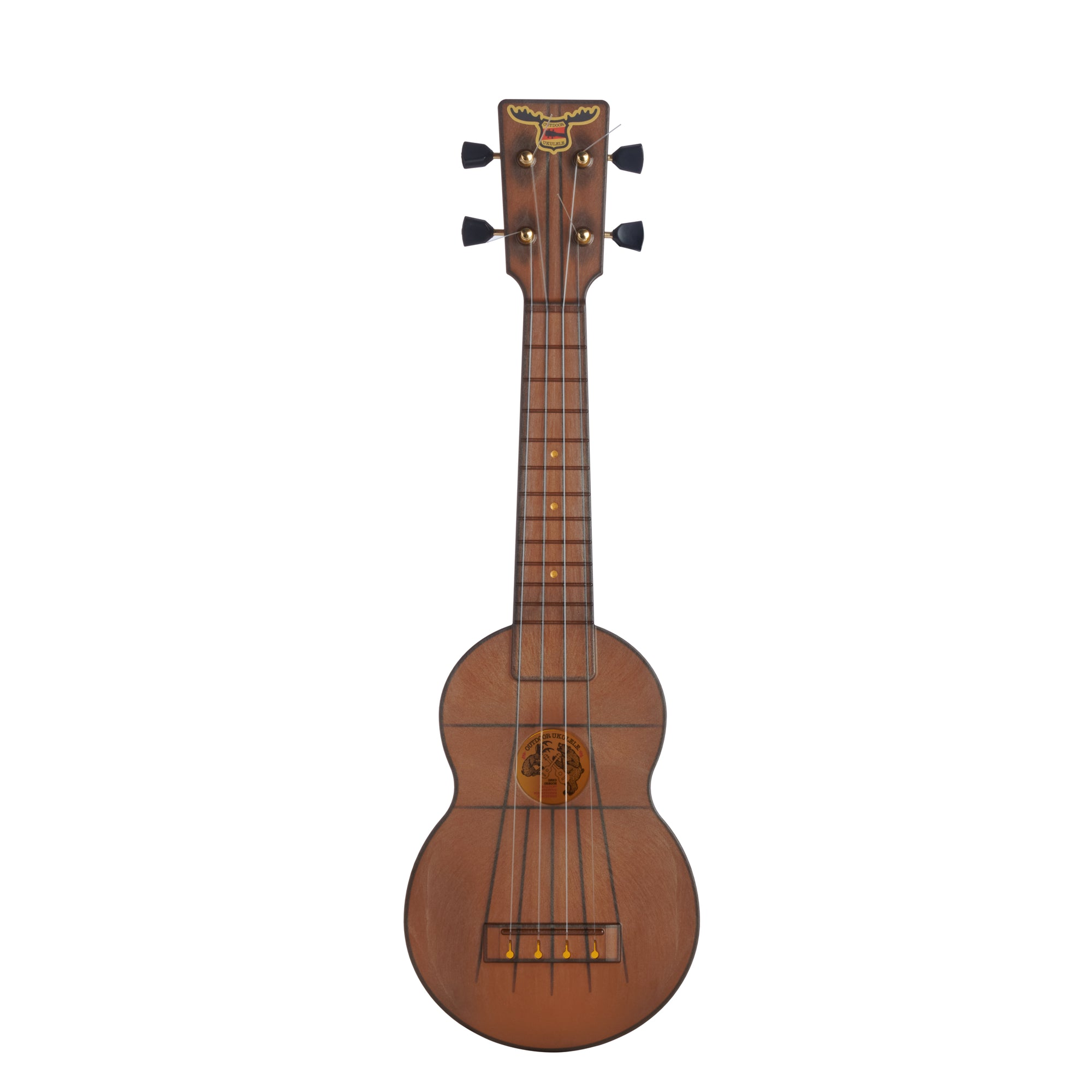 Outdoor Ukulele™ Soprano Brown Gold