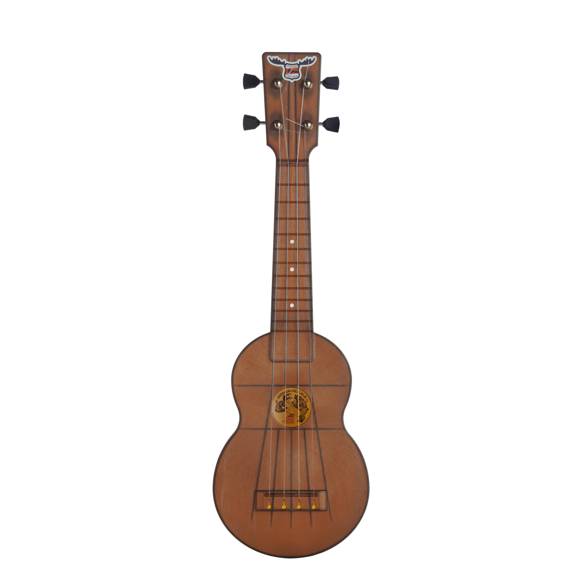 Outdoor Ukulele™ Soprano Brown Nickel