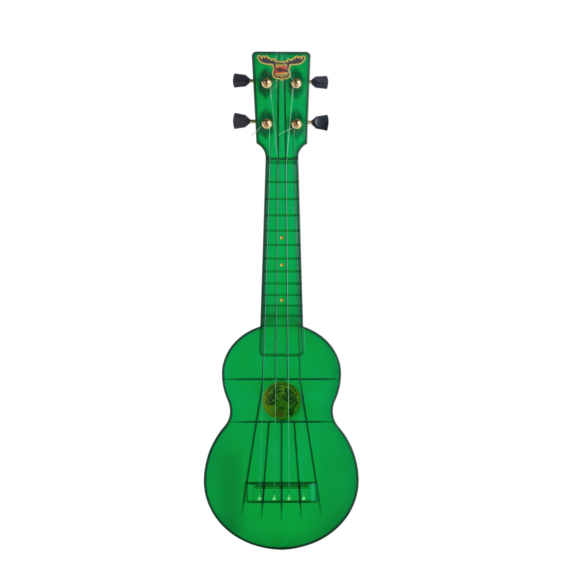 Outdoor Ukulele™ Soprano Green Gold