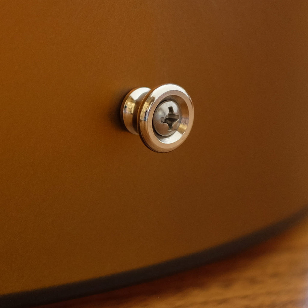 Strap Button Nickel