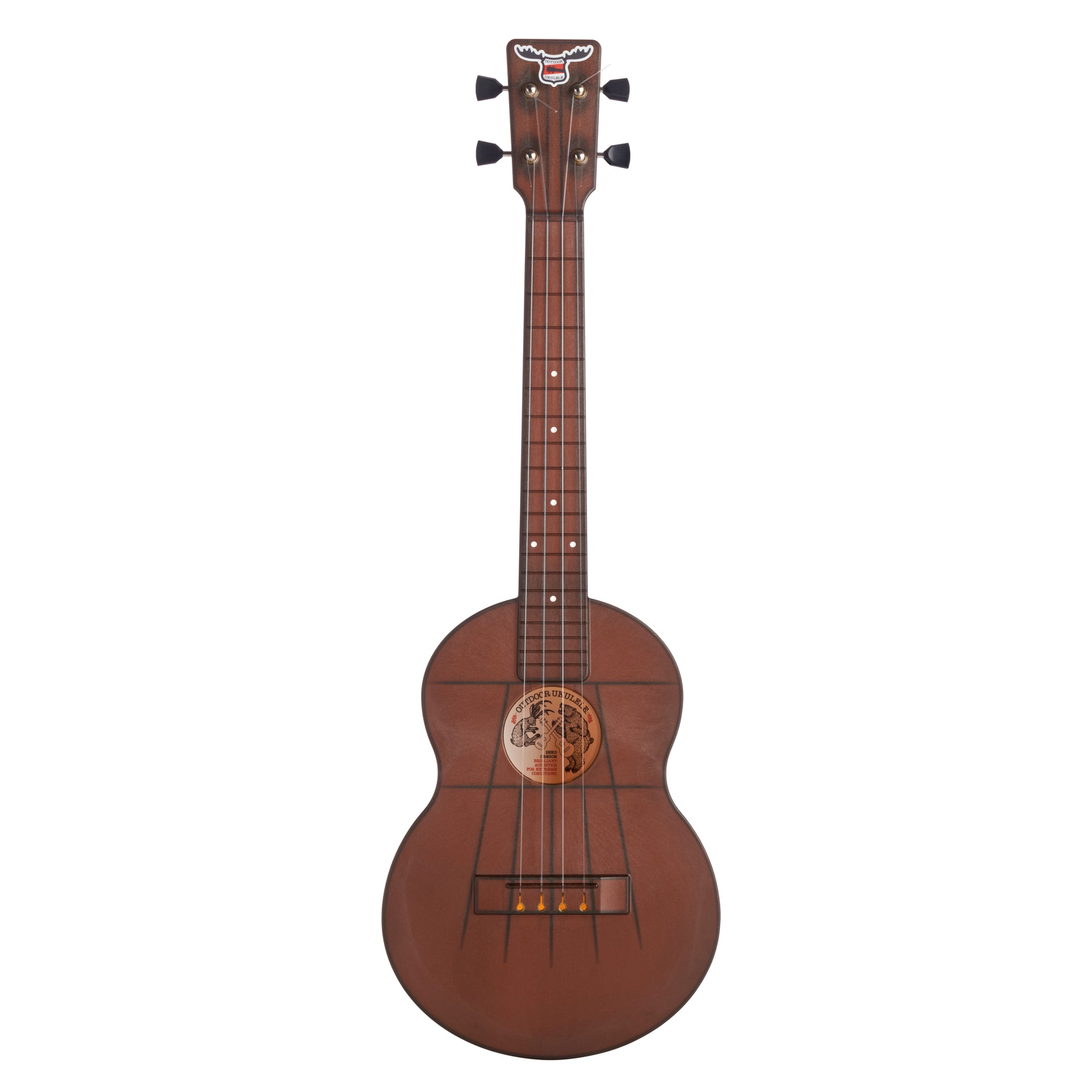 Outdoor Ukulele™ Tenor Brown Nickel