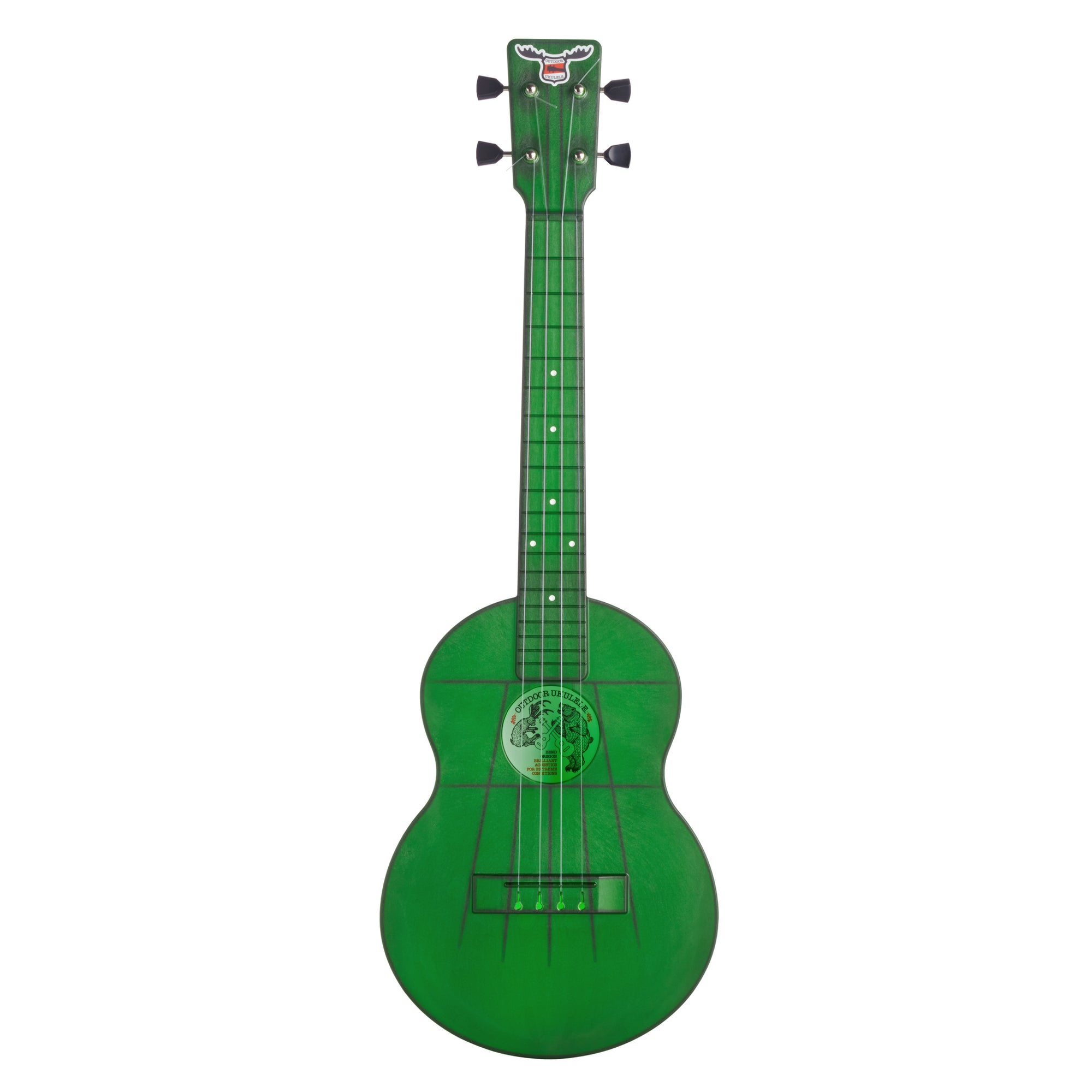 Outdoor Ukulele™ Tenor Green Nickel