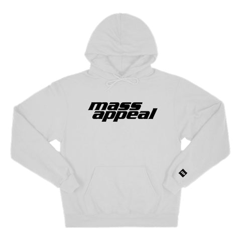 Mass Appeal Standard Logo Hoodie  (white)