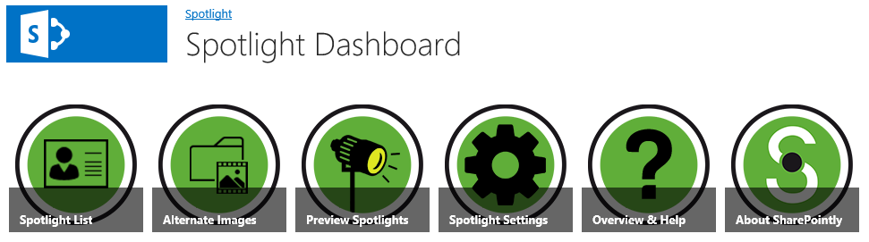 Spotlight Dashboard