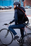handmade waterproof messenger bag for cyclists