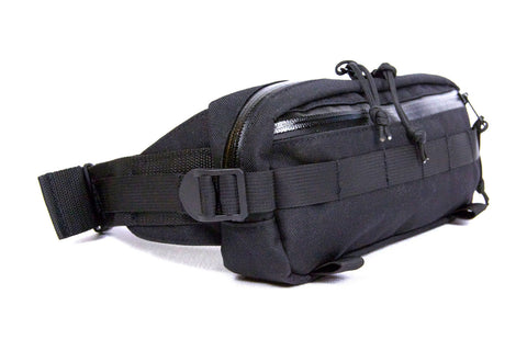 cycling hip bag - black