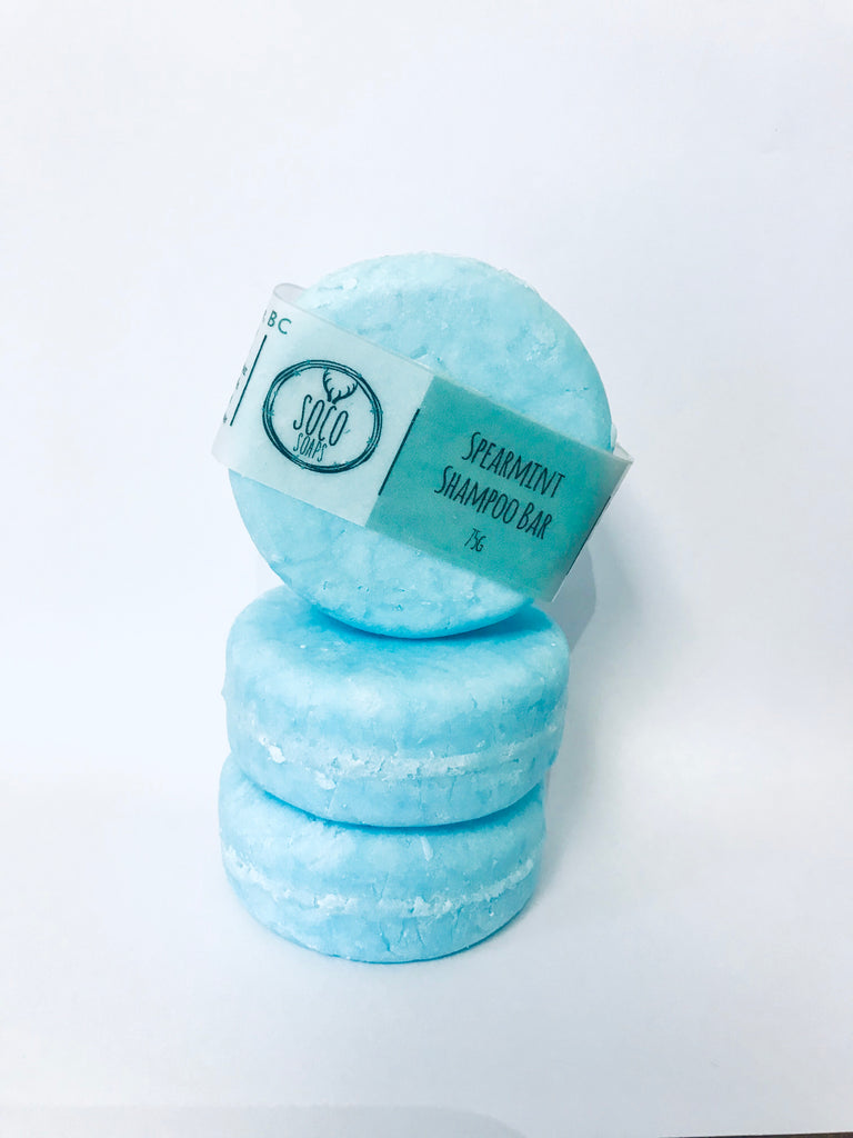Spearmint Shampoo Bar