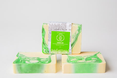 Summer Lime (and the livin's easy) Soap