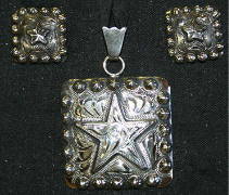 Story Teller Star Pendant & Earrings