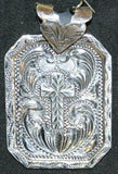 Cowgirls Tale Cross Pendant