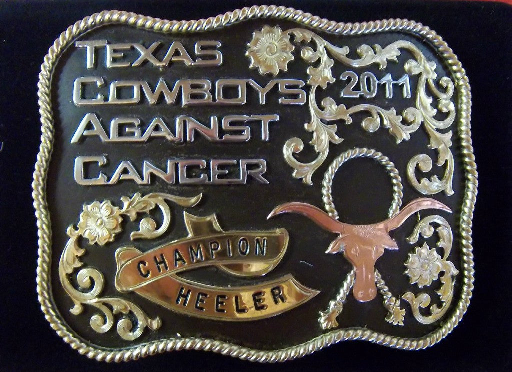 Trophy Buckle TCAC 2011