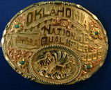 Oklahoma National Trophy Buckle