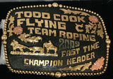 Flying C Trophy Buckle