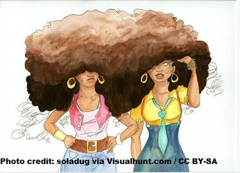 natural hair care afro