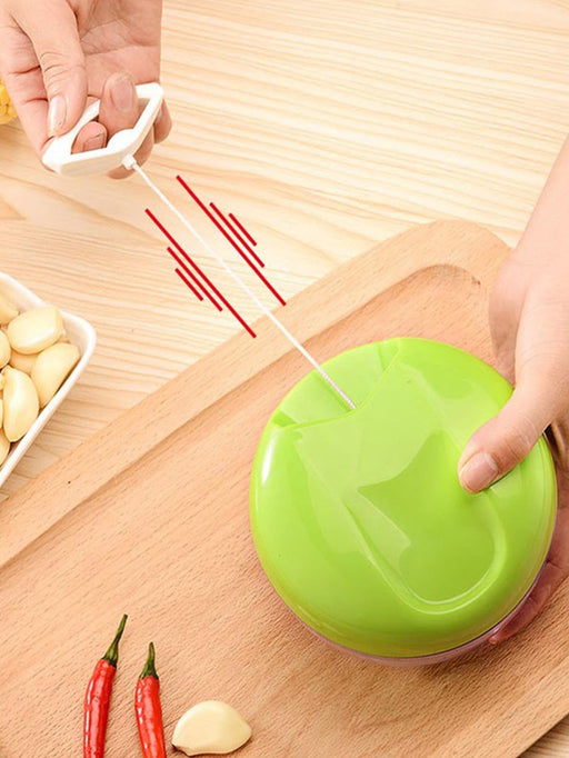 Pull Type Vegetable Cutter