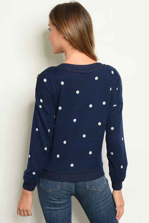 Shop the Trends Womens Dots Top - Alluforu