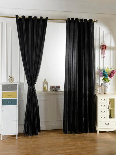 Plain Eyelet Curtain 1pc