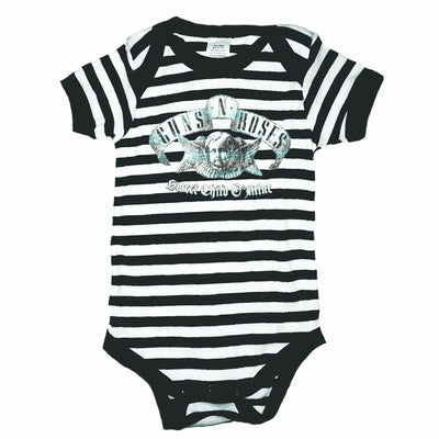 Guns N' Roses Sweet Child Black/White Onesie - Alluforu