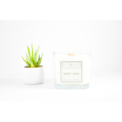 Peony Moss Classic Collection Candle - Alluforu