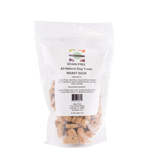 All Natural Dog Treats Grain Free Roasted Duck - Alluforu
