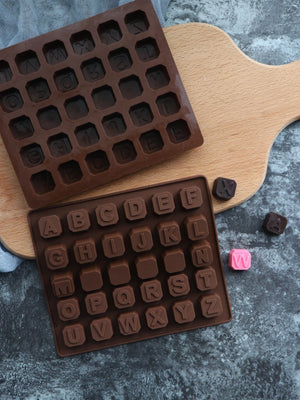 30 Compartment Letter Bake Mold 1pc