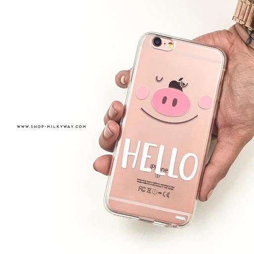 Piggy Says Hello - Alluforu