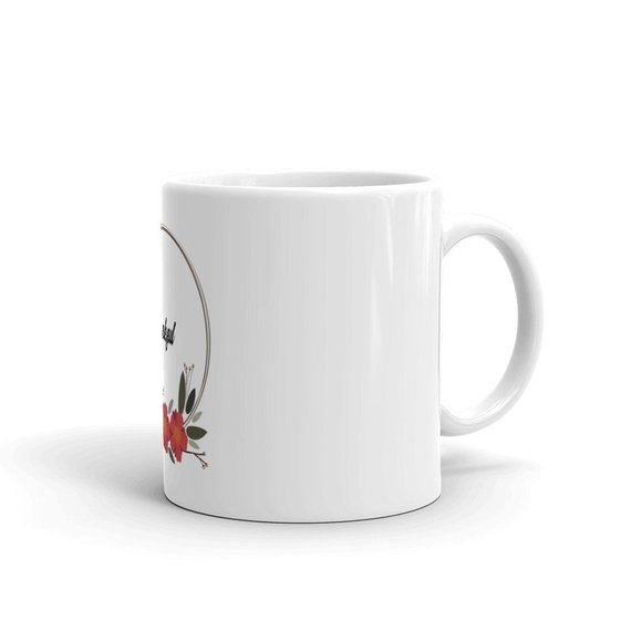 Thankful Holiday Mug