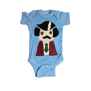 Baby Onesie -Stay Crafty... Burgundy Jacket Man - Alluforu
