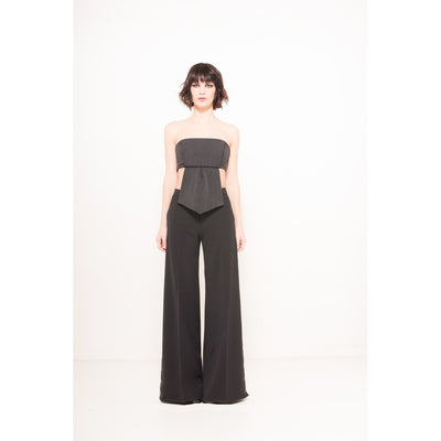 Slit pants - Alluforu
