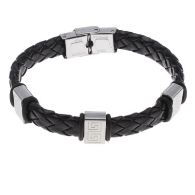 Ancient Warrior Leather Bracelet