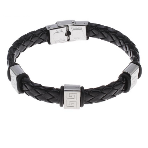 Ancient Warrior Leather Bracelet - Alluforu