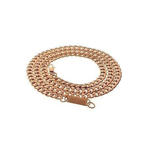 7mm Rico Chain in Rose Gold - Alluforu