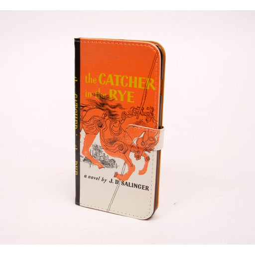 Catcher in the Rye phone flip case wallet for iPhone and Samsung - Alluforu