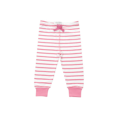 cozy pants in pink marseille stripe - Alluforu