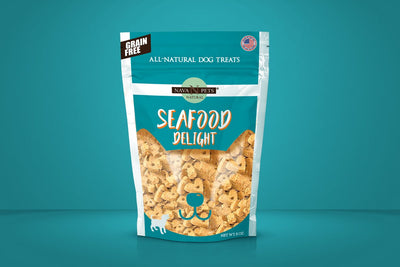 All Natural Dog Treats Grain Free Seafood Delight