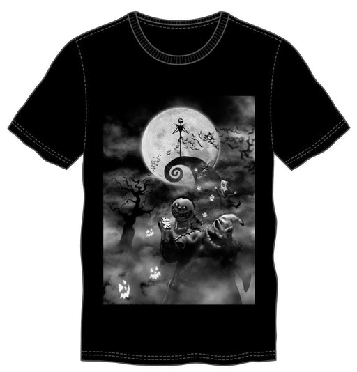 Disney Nightmare Before Christmas Spooky Group T-Shirt - Alluforu