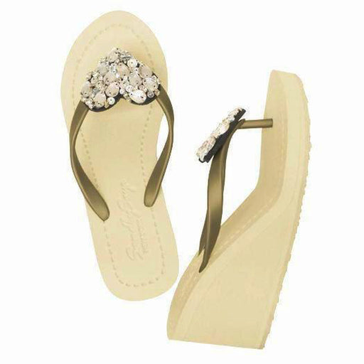 Crystal Chelsea Heart - High Wedge - Alluforu