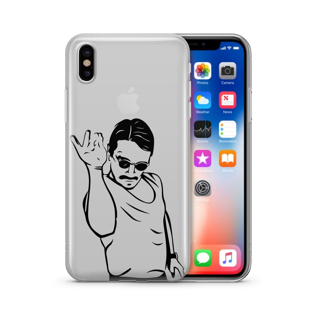 Salt Bae - Clear Case Cover - Alluforu