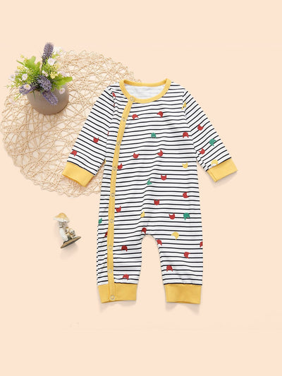 Baby Striped Jumpsuit