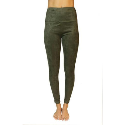 SECRET WEAPON SUEDE LEGGING - Alluforu