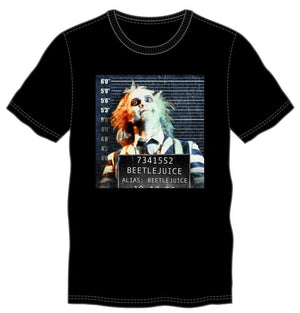 Beetlejuice Wanted Line-Up-T-shirt - Alluforu