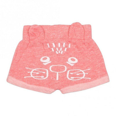 Baby Girl Kitten Animal Bottoms, Pink - Alluforu