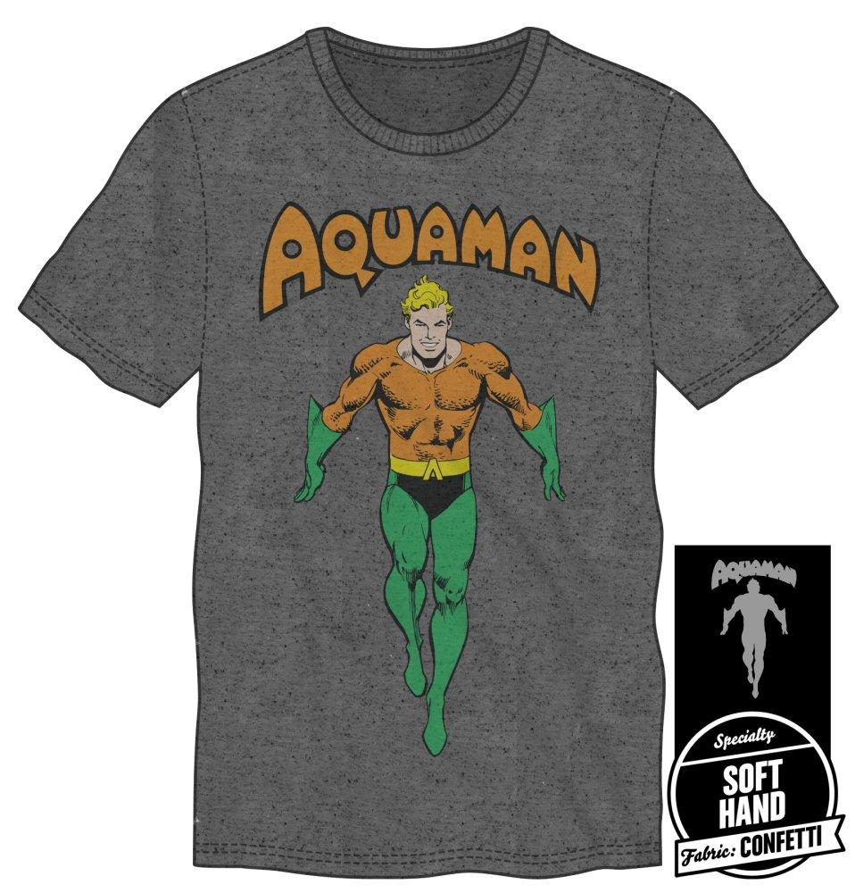 DC Comics Justice League Aquaman Shirt T-Shirt - Alluforu