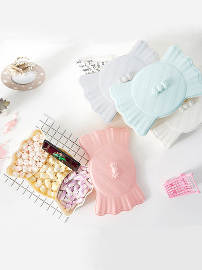 Candy Shaped Snack Tray 1pc