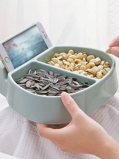 2 Compartment Snack Tray