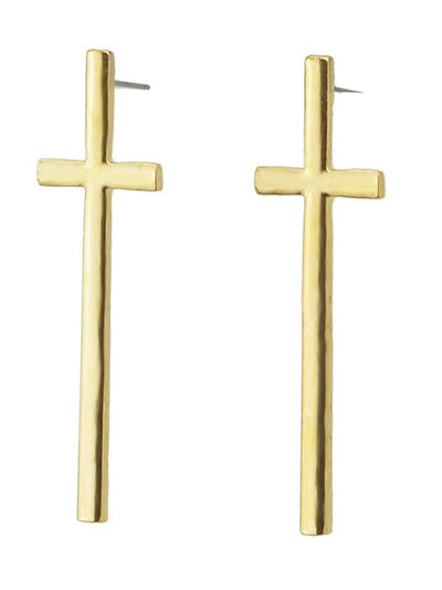 Cross Stud Earrings For Women