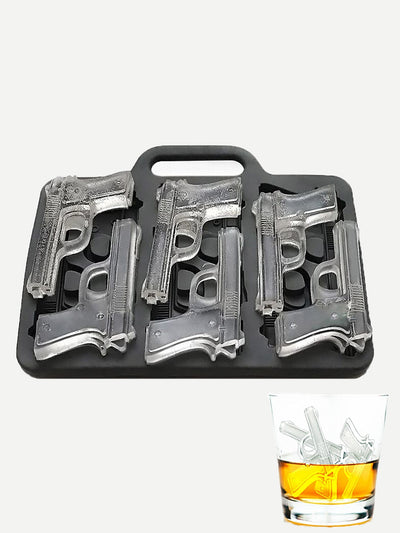 Pistol Shaped Ice Tray