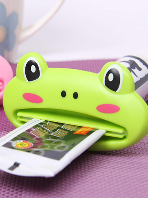 Frog Shaped Toothpaste Squeezer